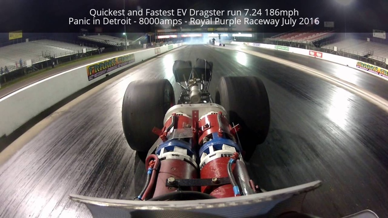 Quickest and Fastest EV Dragster 7 24 186mph