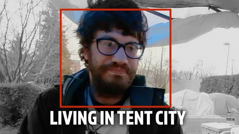 Living in Tent City 3 Homeless Encampment in Seattle