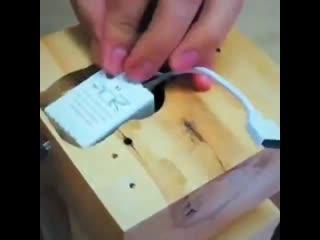 Вот такой светильник можно сделать своими руками