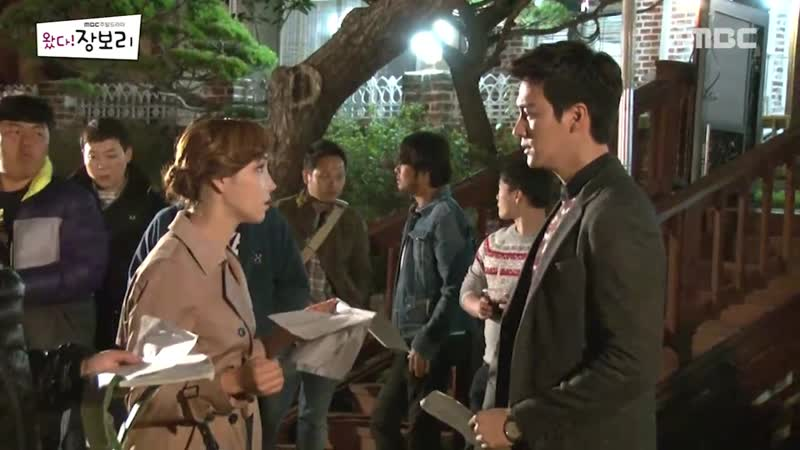 Вперёд, Чан Бо Ри - съёмки (разрыв Чже Хи и Мин Чжун, прощание со зрителями)