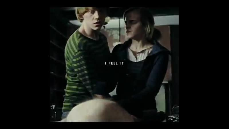 Ron x hermione vine