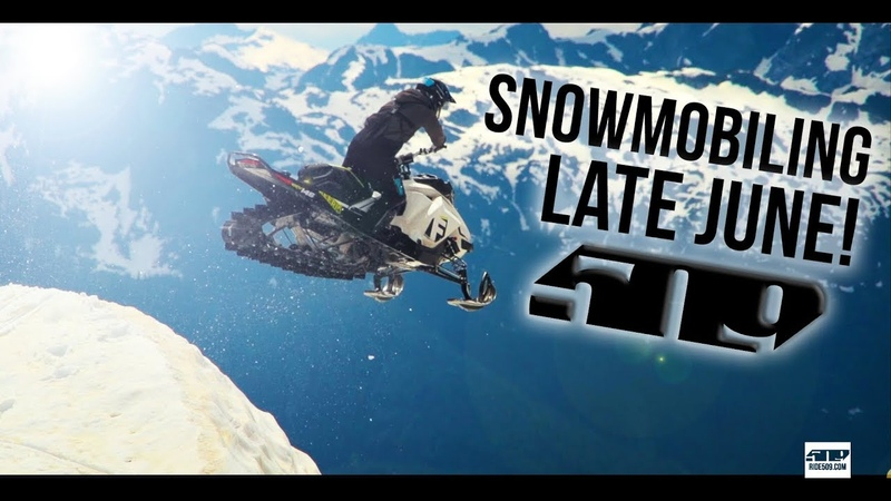 509 - ThrowBack Thursday - Volume 13 - Snowmobiling in JUNE!