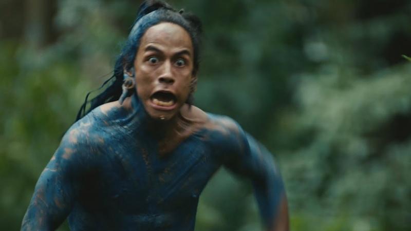 Пантера нападает на племя вождя - Апокалипсис отрывок из фильма