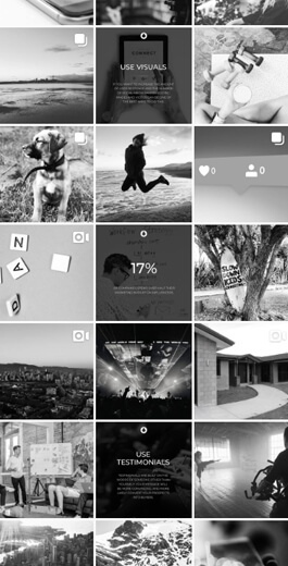 blackdrop.co's Instagram