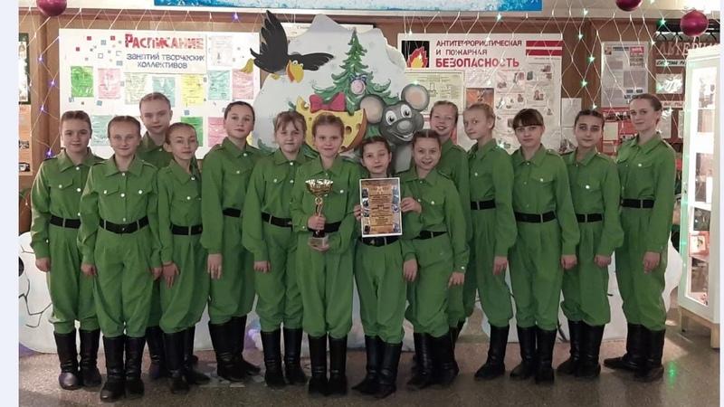 Хореографический коллектив Авантаж Краснокутского поселения лауреат 1 степени