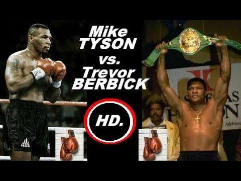 Майк Тайсон Тревор Бербик Mike Tyson vs Trevor