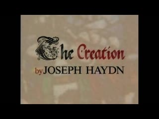 Haydn J. Die Schöpfung The Creation in English - Christopher Hogwood Academy of Ancie