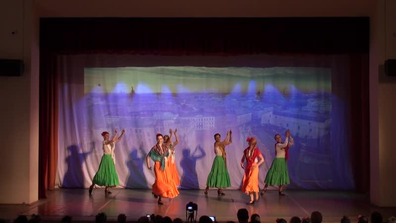 20.05.2019 Отчётный концерт. Студия Дивертисмент. Аргентинский танец Маламбо