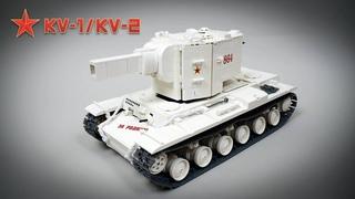 LEGO RC KV-1/KV-2 Tank