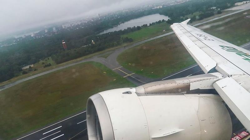 Alitalia A320 takeoff from Berlin Tegel