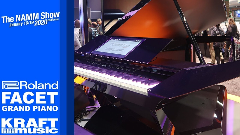 NAMM 2020 Roland Facet Grand Piano
