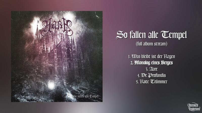 Aara So fallen alle Tempel Official Full Album HD