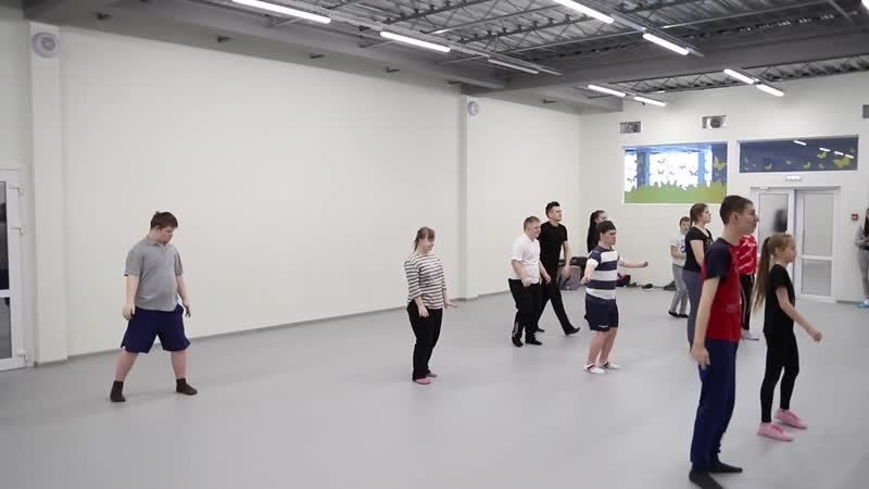 Проект АНО поддержки инклюзии Навигатор Будущего и ПОКОЛЕНИЕ DANCE студия танца г Рязань