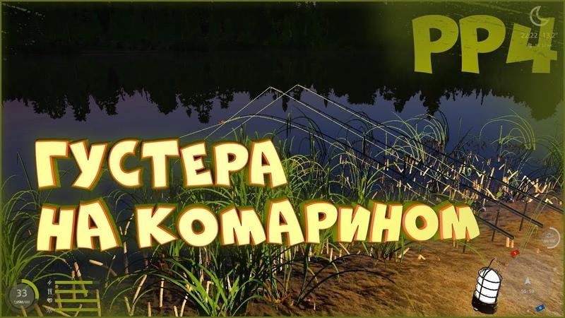Густера на озере Комариное Русская рыбалка 4 Ловля на фидер Фарм монет и опыта новичкам