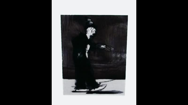 Клоун Микки Маус стикеры с дисней персонажами