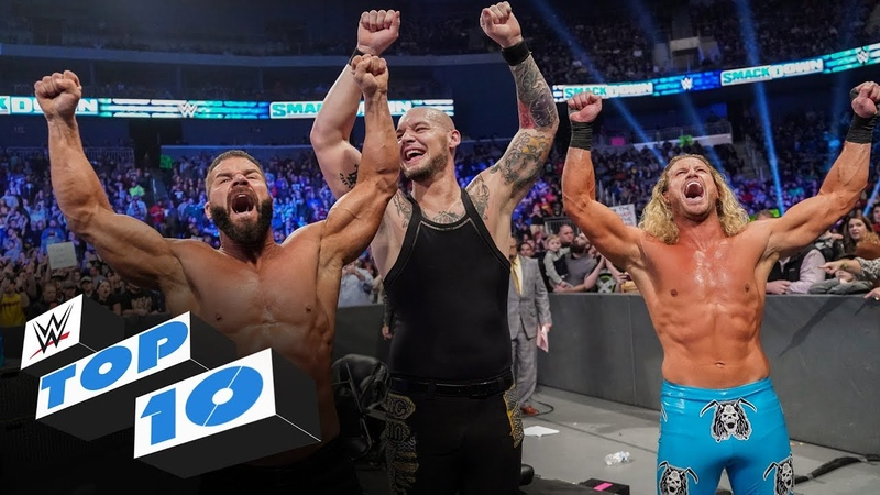 Top 10 Friday Night SmackDown moments WWE Top 10 Jan 10 2020