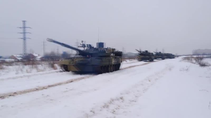 День танкиста Cамые зрелищные и редкие кадры из новейшей истории танковых войск mp4