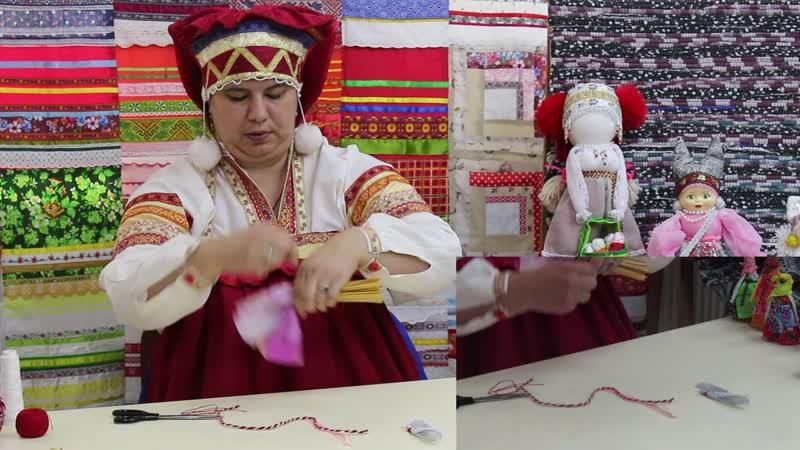 Мастер класс по изготовлению игровой народной куклы Стригушка от Светланы Бауровой