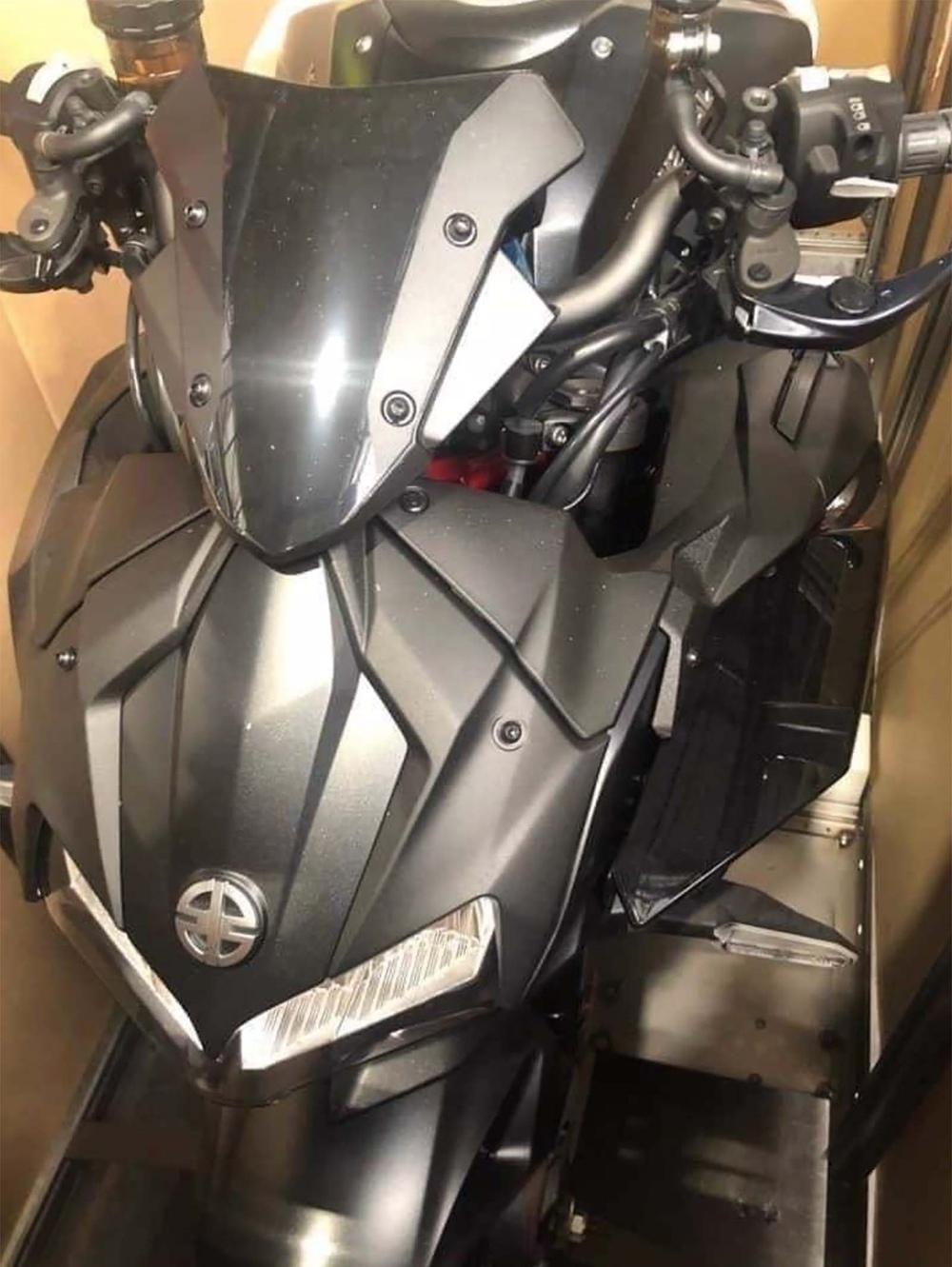 Шпионские фото Kawasaki ZH2 2020