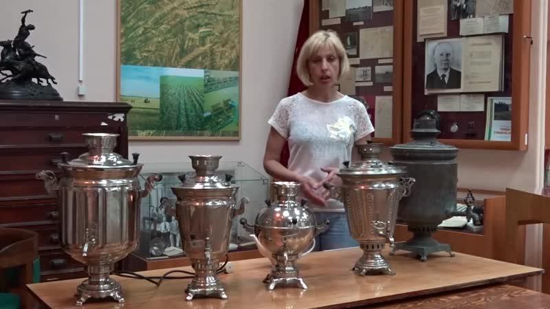 Коллекция самоваров в ОмГАУ. 086