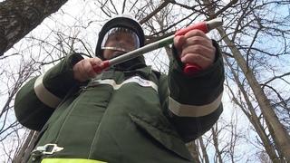 Для добровольной пожарной дружны в Печорах закупили экипировку и ранцевые огнетушители