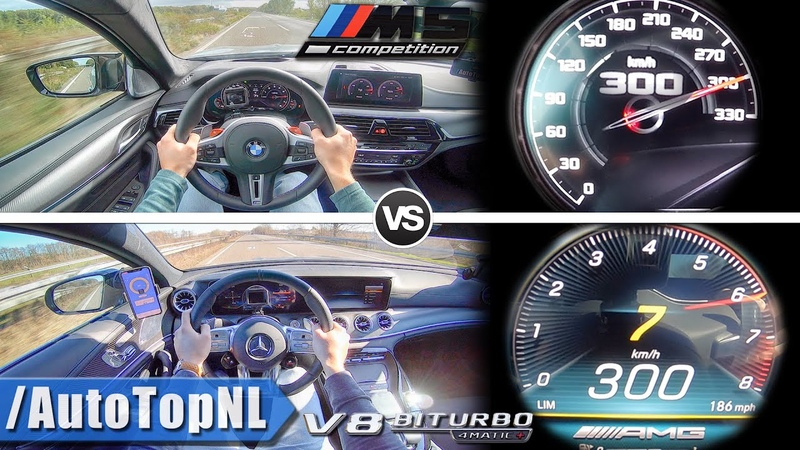 BMW M5 Competition 625HP vs 639HP AMG GT 63S 4 Door | ACCELERATION SOUND AUTOBAHN POV by AutoTopNL