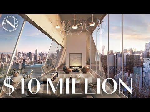 The Iconic $40 MILLION Penthouse Triplex at 150 Central Park South