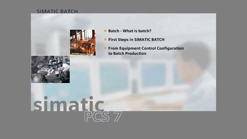 18 - SIMATIC BATCH - Creation of an Equipment Phase 2 of 2