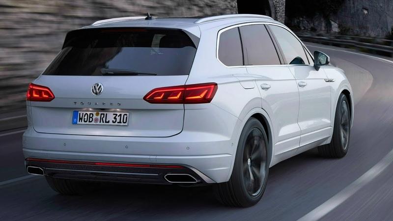 Volkswagen Touareg R Line New High Tech Flagship SUV
