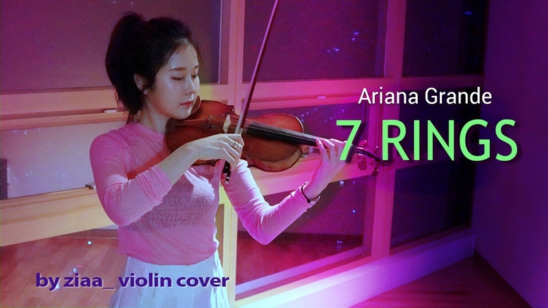 Ariana Grande 아리아나그란데 7 rings by ziaa violin cover
