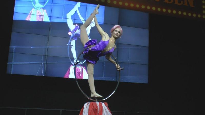 Партерное кольцо Fantacity circus Contortionist acrobat Starcon Halloween 2019