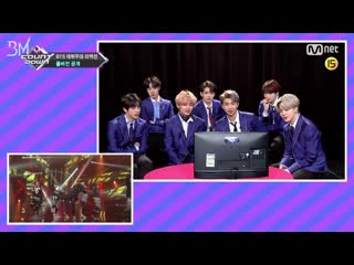 [rus sub] bts debut stage reaction (full version) @ mcountdown