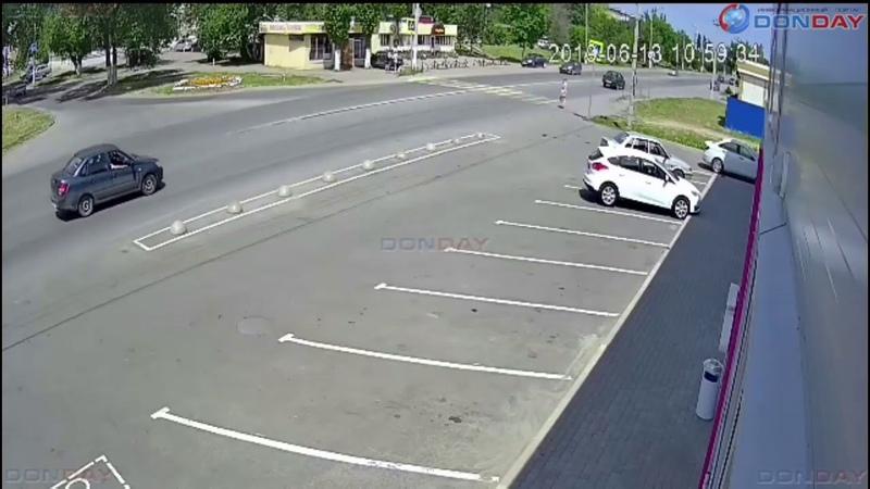 Donday В Новочеркасске на Харьковском шоссе сбили пешехода