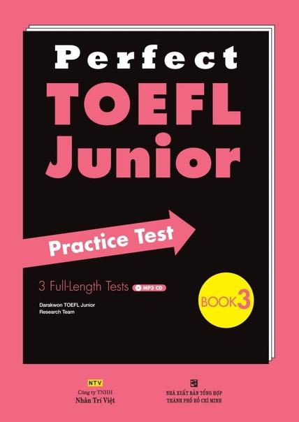 Perfect TOEFL Junior Practice test 3