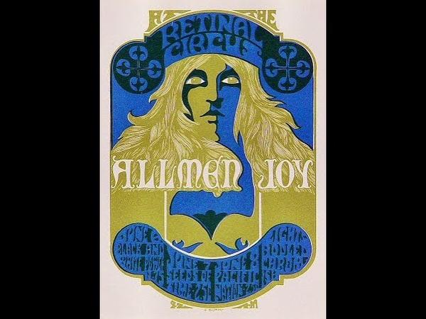 Allmen Joy (pre Allman Brothers) - Denver, Colorado. Family Dog (December 1967) 🇺🇸