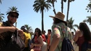 California Trip part 5 - Random Clips Climbing Santa Monica Pier Princess Leia