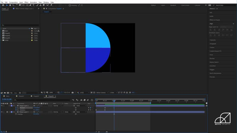 After Effects Tutorial How to Animate Geometric Shapes in Your Designs