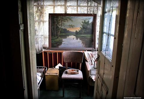Старый дом за плющом