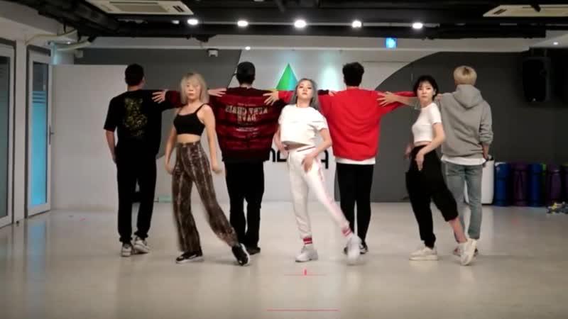 [LADIES` CODE - SET ME FREE] dance practice mirrored