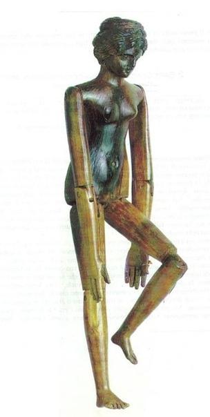 Древнейшая кукла - Креперейя