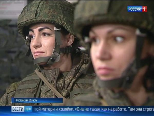 Защитницы Родины женщины-военнослужащие рассказали о своей работе