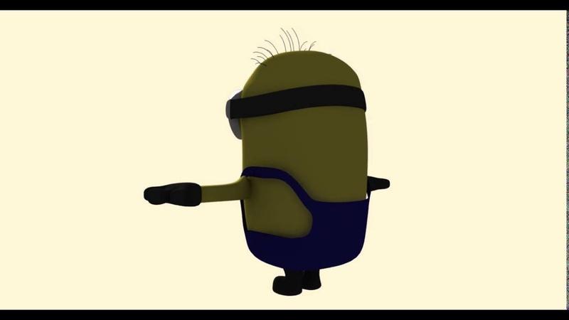 Minion T-pose