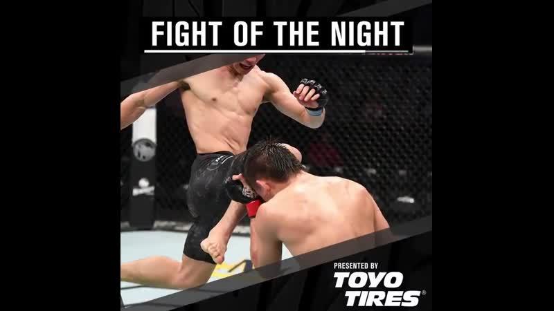 UFCSanAntonio Бой вечера.