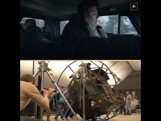Как снимали сцену с аварией из сериала «эпидемия» на premier