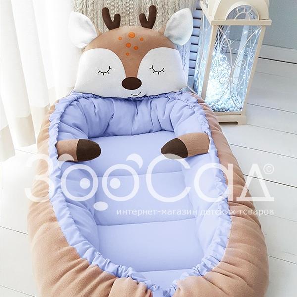 Почему современные родители выбирают от ЗооСад Все потому, что гнездышко очень стильная и полезная вещь, которая не оставит равнодушным ни одного ребенка Гнездышко - это мобильная кроватка,