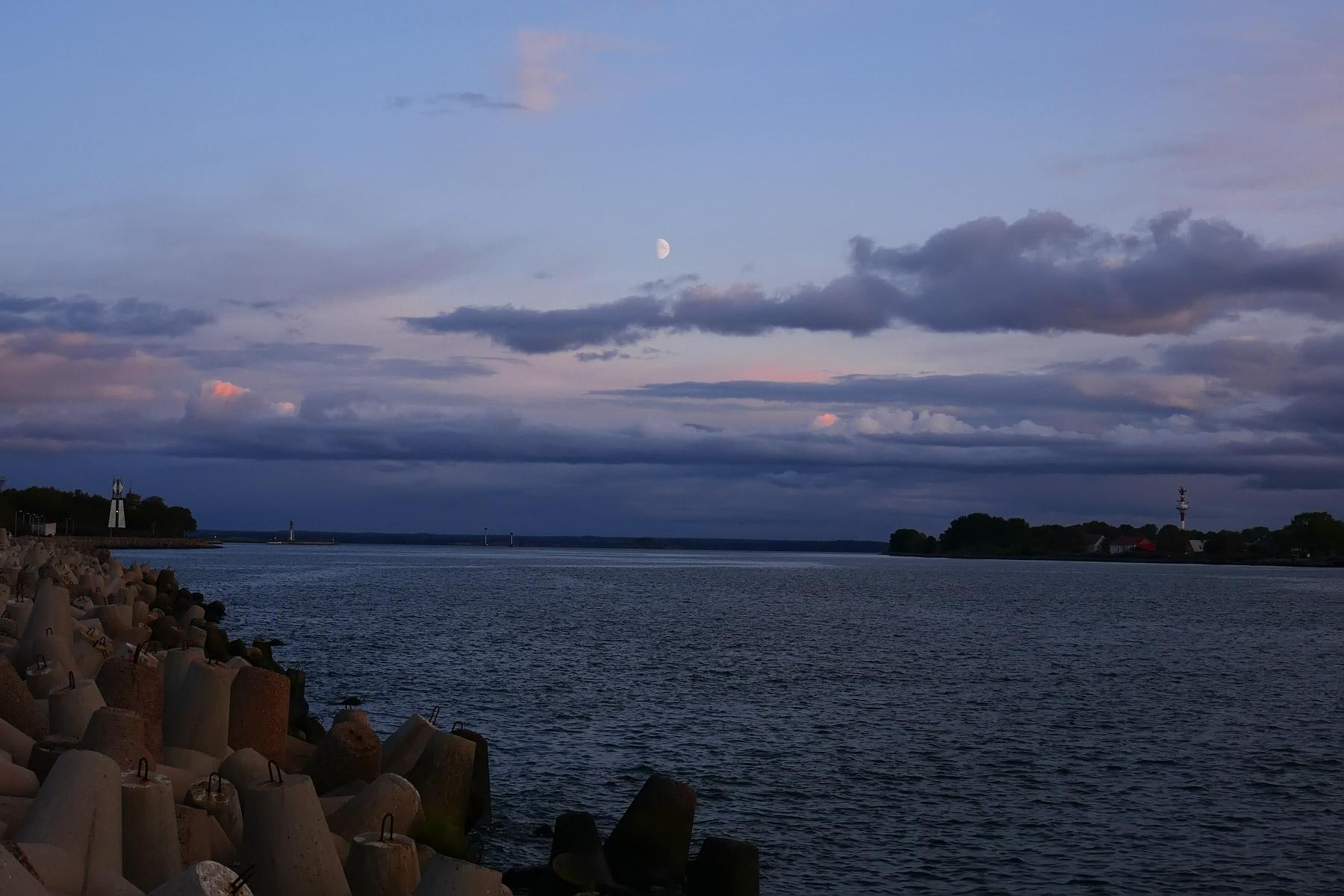 Вечерний Балтийск
