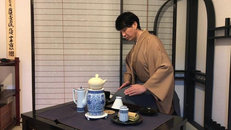 煎茶道 黄檗売茶流 平成一景2017 中井霜仙