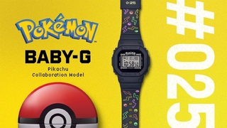 CASIO BABY-G × Pokémon Collaboration Video