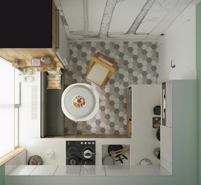 5 маленьких кухонь, в которых задействовано все полезное пространство, изображение №4