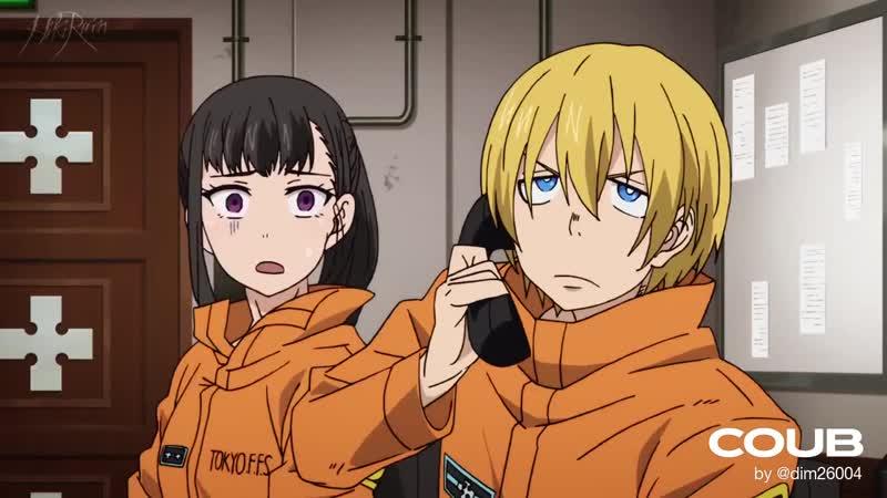 Сайтама попал в Бригаду Пожарных Кроссовер feat Hikiray